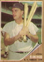 1962 Topps Johnny Blanchard